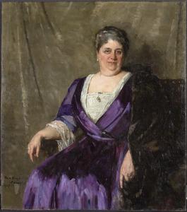Portret van Maria Anna Henrietta Antoinetta Mathijsen (1860-1920)