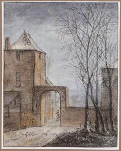 Ingang van een kasteel