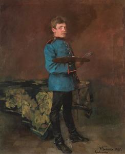 Zelfportret als infanterist