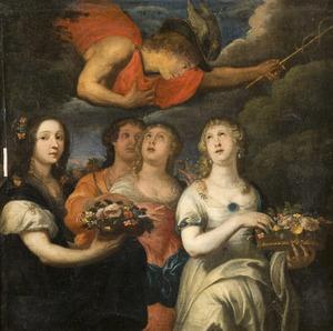 Mercurius wordt verlied op Herse