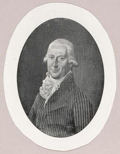 Portret van Christoffel Willem Eekhout (1762-1852)