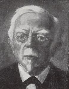 Portret van Augustus Allebe (1838-1927)