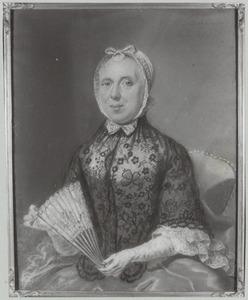 Portret van Magdalena Anna Scriverius ( -1790)