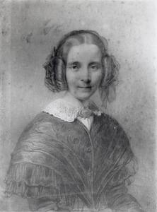 Portret van Margaretha van Weede (1803-1849)