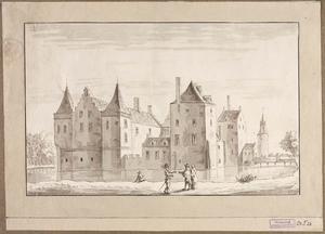 Kasteel Nieuwburg bij Oudorp