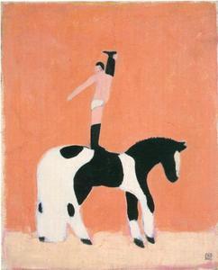 Acrobaat te paard