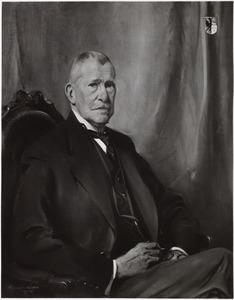 Portret van Wibo Bernhardus Buma (1861-1945)
