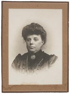 Portret van Anna van Velzen (1864-1917)