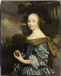 Portret van een onbekende jonge vrouw