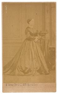 Portret van Leopoldine Marie barones van Limburg Stirum (1817-1894)
