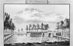 Overblijfselen van Oud-Amelisweerd bij Bunnik