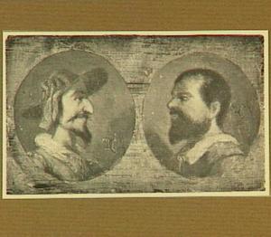 Portretten van Don Quixote en Sancho Panza