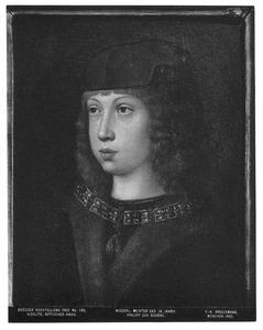 Portret van Philips de Schone als knaap