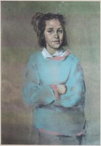 Portret van Philippa Hansson
