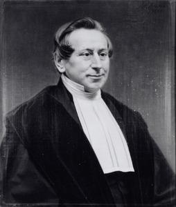 Portret van Henricus Christiaan Millies (1810-1868)