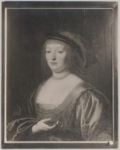 Portret van Elisabeth zu Solms (1593-1636)