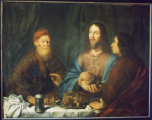 Christus en de Emmaüsgangers