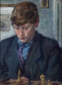 Portret van Henk Wolter jr.