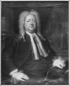 Portret van Geleyn Hurgronje (1683-1727)