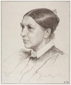 Portret van Jeltje de Bosch Kemper (1836-1916)