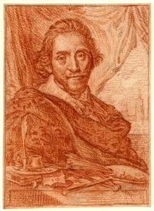 Zelfportret (?) van Adriaen Pietersz. van de Venne (....-1662)