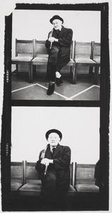 Herbert Fiedler in het stadhuis bij het huwelijk van zijn dochter.