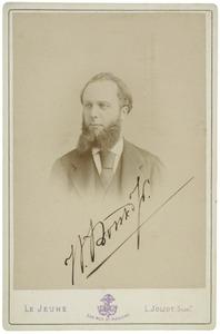 Portret van Willem Borski (1834-1884)