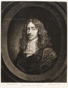 Portret van een persoon genaamd Cornelis de Witt (1623-1672)