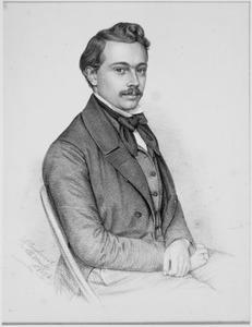 Portret van Willem Six (1829-1908)