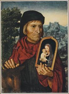 De H. Lucas, mogelijk een zelfportret van de kunstenaar