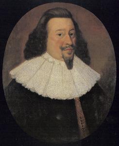 Portret van graaf Anton Günther von Oldenburg (1583-1667)