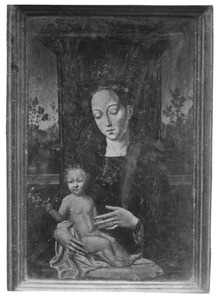 Tronende Maria met het Christuskind
