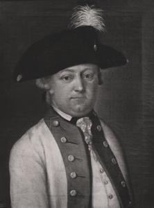 Portret van Arnoldus Hendrik des Tombe (1730-1804)