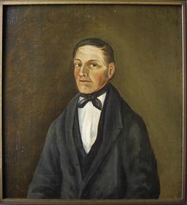 Portret van mogelijk Sierd Kammenga (1835-1900)