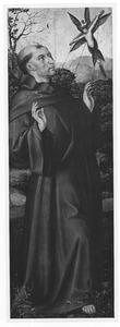 De H. Franciscus ontvangt de stigmata (keerzijde: de H. Donatius)