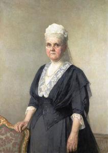 Portret van koningin Emma (1958-1934)