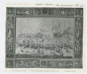 Engelse vloot aangevallen door de Hollanders