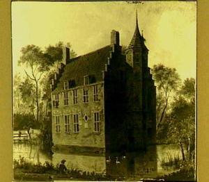 Het Huis Altena bij Delft, ca. 1747