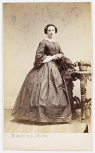 Portret van Susanne Philippine Kist (1822-1894)