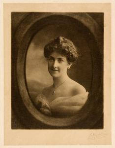 Portret, mogelijk van Ruby Crumford