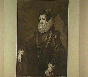 Portret van Elisabeth van Bourbon, vrouw van Philips IV van Spanje