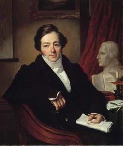 Portret van Jean Brand van Langerak en Cabauw (1788-1847)