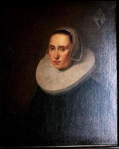 Portret van Margaretha Nilant (1607-1643)