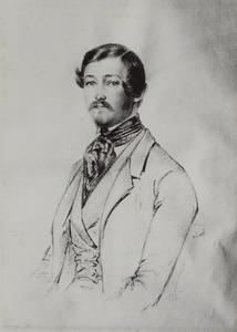 Portret van Steffan Creutz (1819-1891)