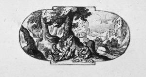 De gelijkenis van de barmhartige Samaritaan: de reiziger wordt overvallen door rovers  (Lucas 10:30-37)