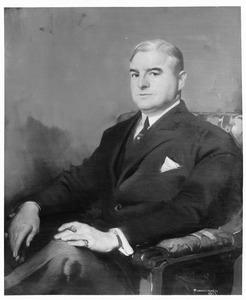 Portret van Hendrik Frans Boersma (1877-1946)
