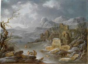 Weids winters berglandschap
