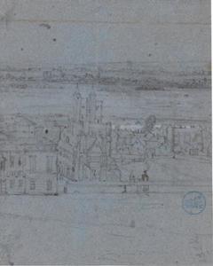 Gezicht op Greenwich met links het Queen's House