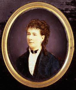Portret van Louise Constance Jeanne van Brakell (1831-1884)