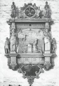 Epitaaf van Achim Riebe (overleden in 1582)